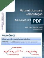 03 Polinomios e Fatoração