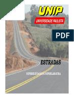 Estradas e Aeroportos - Superlargura e Superelevação