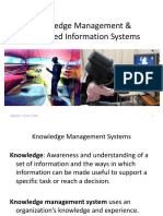 Knowledge Management & Specialized Information Systems