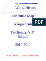 AP World History Annotated Map Assignments