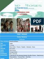 Presentación Película Pan y Rosas