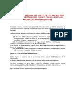 INSTRUCTIVO-STATUS RECIBO POR HONORARIOS
