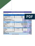 Composição de Preço Aplicativo Excel