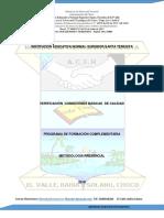 Documento Maestro Normal de Bahia solano 2018