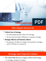 CHAPTER 2-CULTURE AND CORPORATE STRATEGY