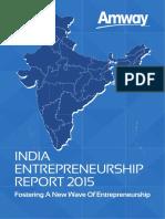 Amway India Entrepreneurship Report 2015