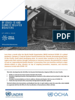 UNDRR Asia-Pacific Brief_Dual Challenges of Climate-related Disasters and COVID-19