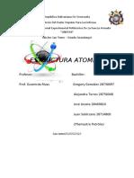 Trabajo de Quimica Estructura Atomica