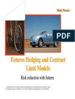 Futures Hedging and Contract Limit Models