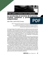 VS135_M_Aldaz_A_Sainz_Revolucion_servicio_poesia-Lucha_estetica_y_produccion_subjetividad