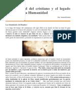 Reflexion- La identidad del cristiano y el legado de cristo a la Humanidad.docx