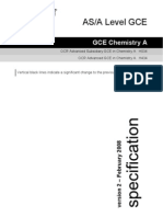 Chemsitry Spec