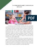 APROFUNDANDO O CONHECIMENTO SOBRE A A PSICOLOGIA DA EDUCAÇÃO PDF_aula interativa 1
