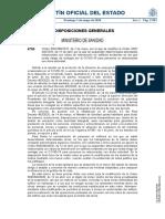 Orden SND/385/2020
