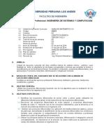 Sílabo Análisis Matemático III 2014-I  SISTEMAS Y COMPUTACION