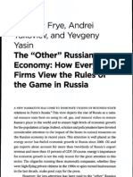Frye Other Russian Economy