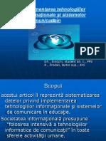 Implementarea tehnologiilor informationale si sistemelor de comunicare in educatie (1).pptx