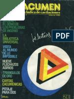 CACUMEN - 01 - Revista Ludica de Cavilaciones - Febrero 1983