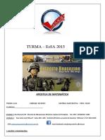 APOSTILA EsSA PARTE 1 MAT  2015