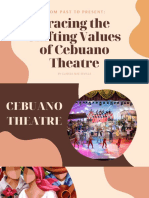 Shiffting Stages of Cebuano Theatre
