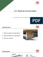 DIA No. 3 - DISEÑO DE MUROS DE CORTANTE Y CONEXIONES VIGA COLUMNA