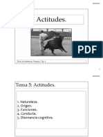 Tema 5 Actitudes