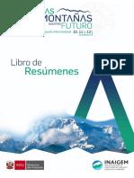 Simposio Internacional Las Montañas Nuestro Futuro Cusco2019