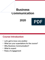Business Communication Day 1
