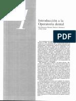 1 Introduccion a la Operatoria Dental