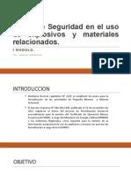 SEGURIDAD EN EL USO DE EXPLOSIVOS - 17.04.17