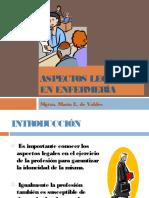 ASPECTOS LEGALES DE ENFERMERIA