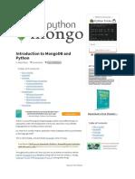 Introduction to MongoDB and Python