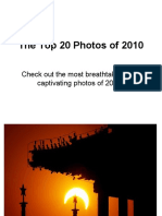 Top 20 Photos of 2010