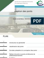 présentation  - conception des ponts - ENSAH.pptx