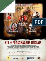 Kit de Personagens - D&D 5e
