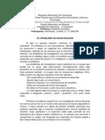 ENSAYO - EL PROBLEMA DE INVESTIGACIÓN - LORELBIS HERNÁNDEZ
