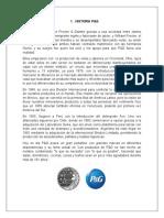 CADENA DE SUMINISTRO P&G