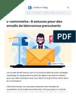 E-commerce - 8 astuces pour des emails de bienvenue percutants.pdf