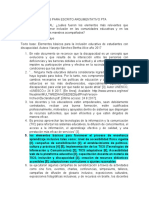 IDEAS PARA ESCRITO ARGUMENTATIVO PTA
