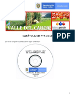 CARATULA CD PTA 2019