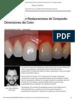 Estratificación en Restauraciones de Composite_ Dimensiones del Color – Blog de Ultradent