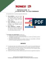 Protocolo COVID-19 Reporte caso probable o confirmado