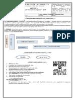 2020 Protocolo general de Artística de primaria y bachillerato