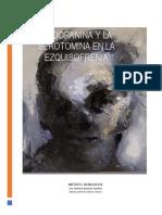 la dopamina y la serotomina en la esquisofreia (1)