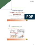 2. Modulo II - Procedimientos e informes INFORMES COSO