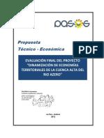 PROP TECON Fundacion PASOS