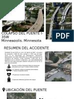 COLAPSO DEL PUENTE I-35W (Minneapolis, Minnesota)