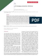 Molecular pathology of emerging coronavirus infections
