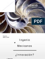 3 Ingenio + mexicano = innovación Guido Lara Lexia