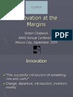 15 Innovation at the Margins Simon Chadwickn Cambiar